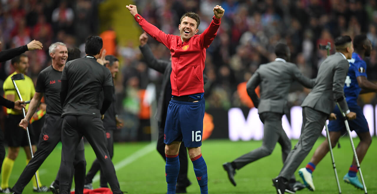 1544a171a Thank you for the memories Michael Carrick