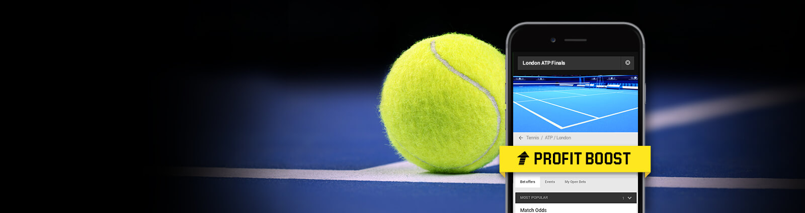 ATP Finals: Quoten-Boosts