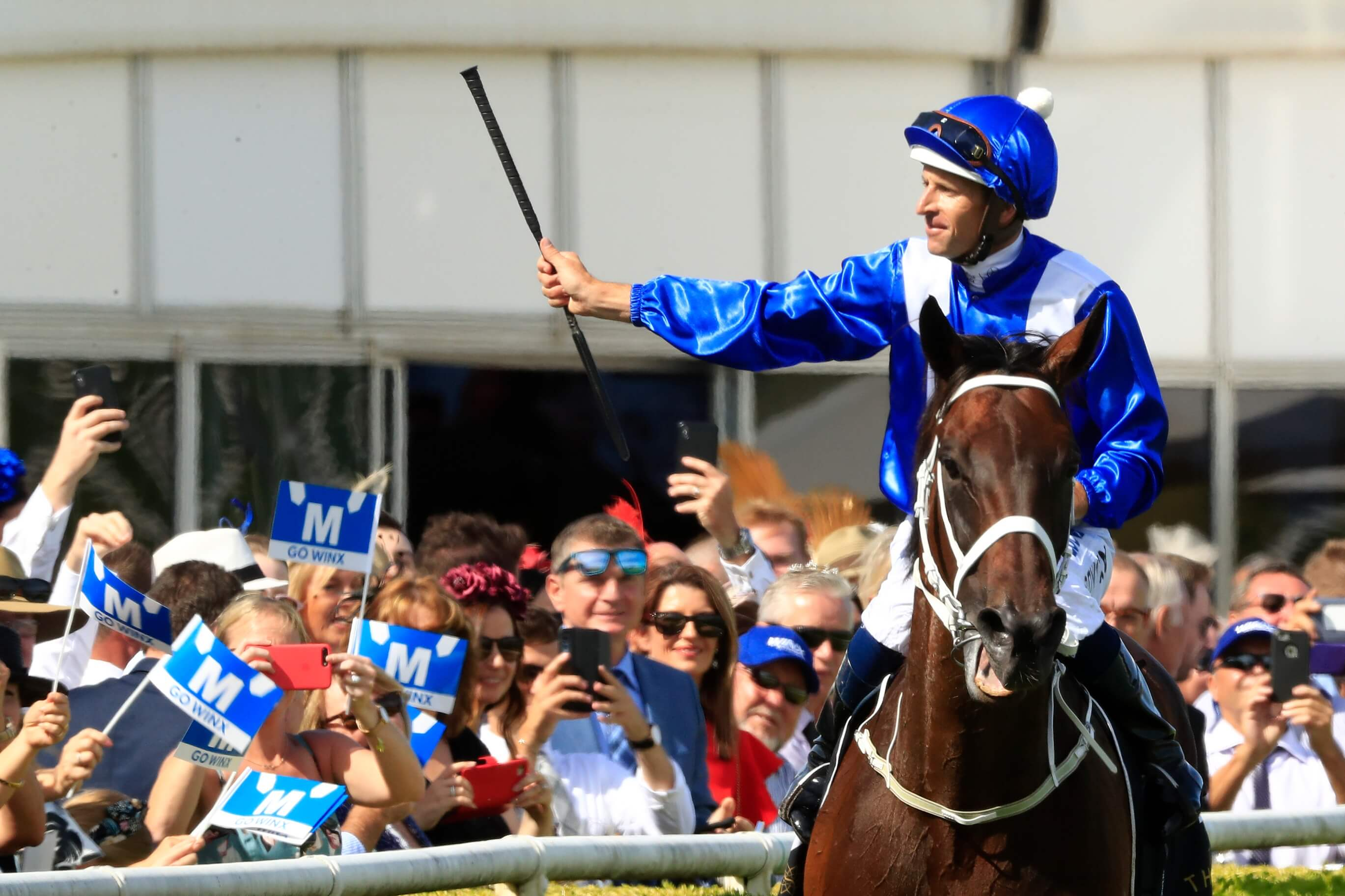 Winx hugh bowman apollo stakes feb 16 2019
