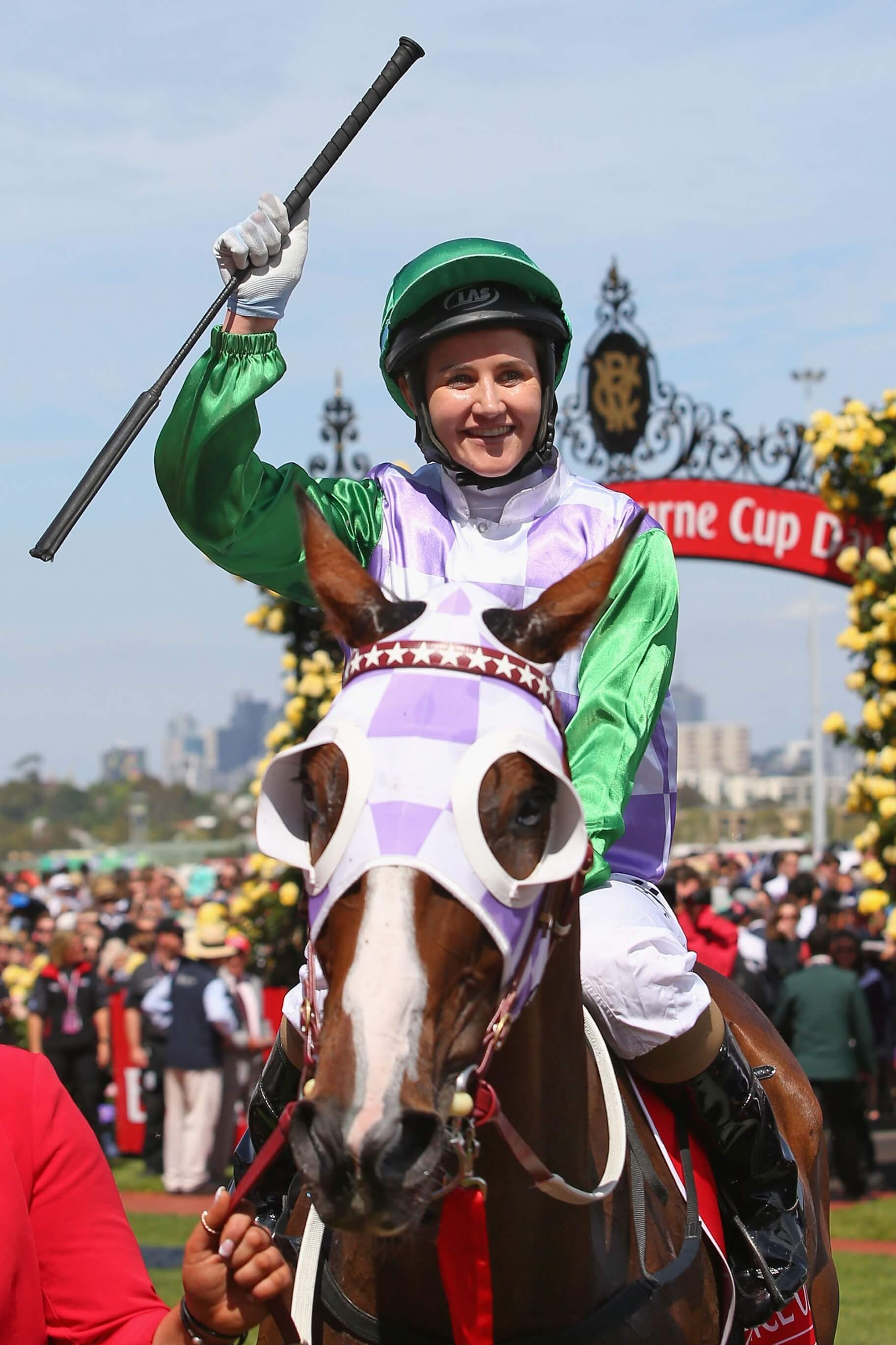 Michelle Payne on Prince of Penzance Melbourne Cup November 3 2015