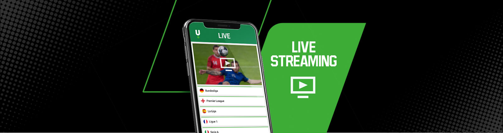 Promo page streaming games of the week BE un 2020