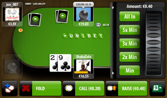 Unibet poker android download best offline poker android game