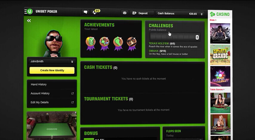 Bilderesultat for unibet poker